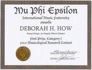 Doctoral dissertation help musicology